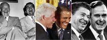 The single best joke told by every president, from Obama to Washington