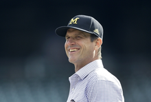 Harbaugh says he hopes board members 'get it right' on camps