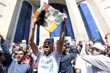 Thousands Protest Egypt's Red Sea Island Deal With Saudi Arabia