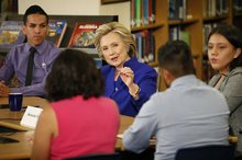 A Year Ago, Clinton Planted A Flag On Immigration In Nevada That Changed The Election