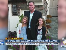 La Jolla man honored for fighting off shooter