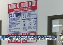 Local company provides lifeguards for pool parties