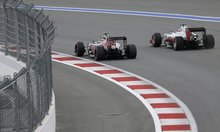 Haas 'between Earth and the Moon' after Sochi