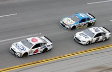Trevor Bayne basks in the glory of being 'in the game' again at Talladega