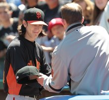 A's to attend Tim Lincecum showcase