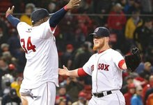 Brimming with confidence, Red Sox hit the road