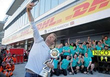 Rosberg joins select group but title is the target