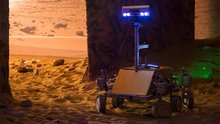Tim Peake drives remote robot on Earth from orbit