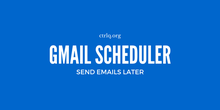 Email Scheduler for Gmail