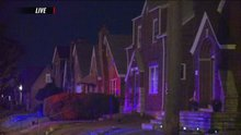 Residents flee house fire in north city