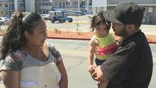 Parents recount throwing their baby out the window during apartment fire; arson suspect charged
