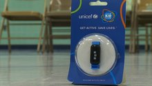"""UNICEF Fitness Bands Help Kids In Minnesota, And Worldwide """" WCCO"""
