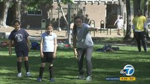 Cool Kid Catalina Alonso shares her passion for soccer