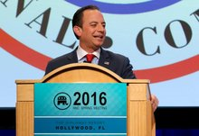Donald Trump's unlikely villain: piano-playing Reince Priebus