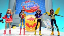 Mattel finally rolled out a line of super hero toys for girls and the early results are in