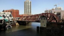 """A body was pulled from the Chicago River Tuesday morning near Lake Michigan. """" CBS Chicago"""