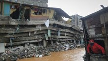 Nairobi's governor says the pubic is also to blame for the city's deadly floods