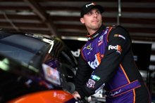 Denny Hamlin says only two options to keep cars from going airborne at Talladega