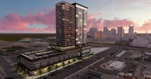 First look: 27-story tower planned for former Mazda site