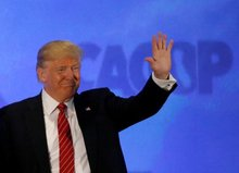 Donald Trump says Republican race all but over if he wins Indiana
