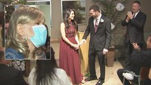 Long Island Cancer Patient Gets to See Son Wed in Hospital Ceremony