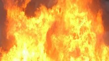 Firefighters Battle Large Blaze at Building on New Jersey Shore