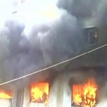 Fire engulfs Bhiwandi building, many feared trapped