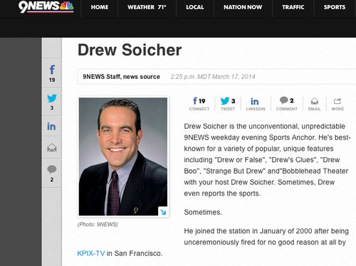 What communicators can learn from the funniest news bio you'll ever read