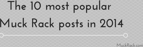 The 10 most popular Muck Rack posts in 2014