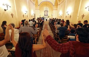Mission churches remain open despite federal shutdown