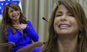 Straight Up: Paula Abdul talks faith, fame and twerking on first visit to Israel