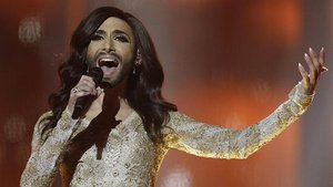 Bearded drag queen in Eurovision spotlight