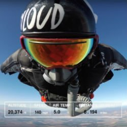 Wingsuit Distance Record Shattered