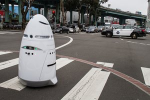 On Duty With the 21st-Century Neighborhood Watch Robot