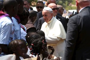 Pope Preaches Message of Unity in Divided CAR