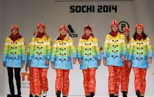 Fashion | Pro-gay and anti-Russia uniforms for German Olympic athletes?