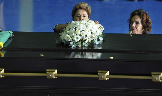 Rio de Janeiro | Brazil honors exhumed remains of its former leftist president - 37 years later