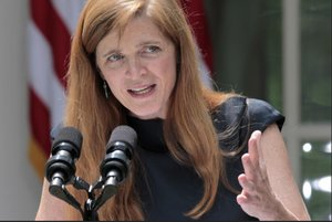 "New York | US Ambassador Samantha Power calls denying LGBT people to live freely ""barbarism"""