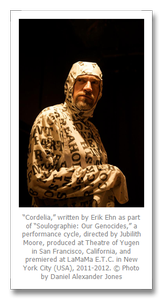 """Writing Can Be Torn Up, Strange, Misfit"" -- Interview with U.S. Playwright Erik Ehn"