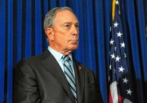 Mayor Michael Bloomberg comes under attack at National Rifle Association conference