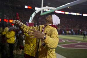 From cables to sound cones, workers bring game to Husker nation