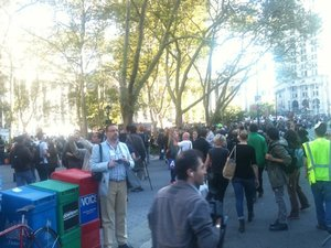 Live Reporting: Occupy Wall Street Protests Rock New York City