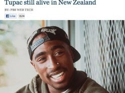PBS Hacked, Claims 'Tupac Alive' In New Zealand