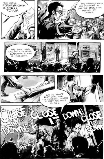 Civil Unrest, Panel by Panel
