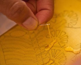 Golden Spider Silk Makes Rare Cloth