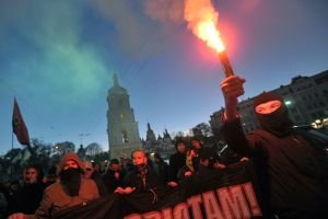 Ukraine's nationalist party embraces Nazi ideology
